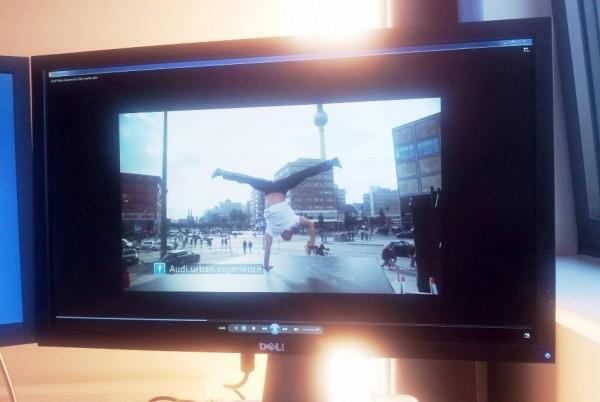 Audi-Streetart-A3-Limousine-Berlin-Alexanderplatz-Livecut-Hotel-Büro-KNITTERFISCH-2