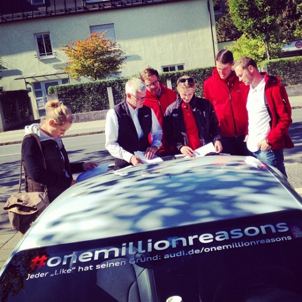 Audi-onemillionreasons-R8-Team-KNITTERFISCH