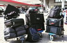 LIDL-Gepäck-Barcelona