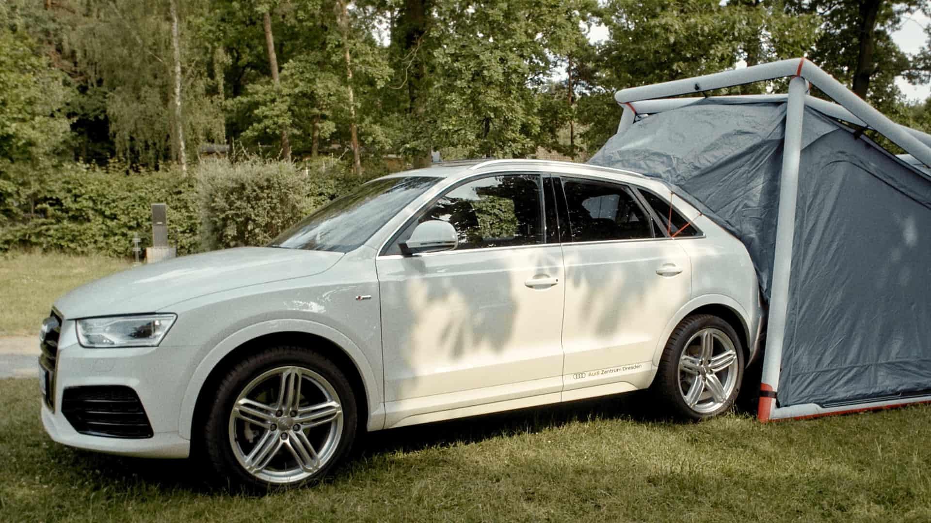 Audi Q3 Zelt