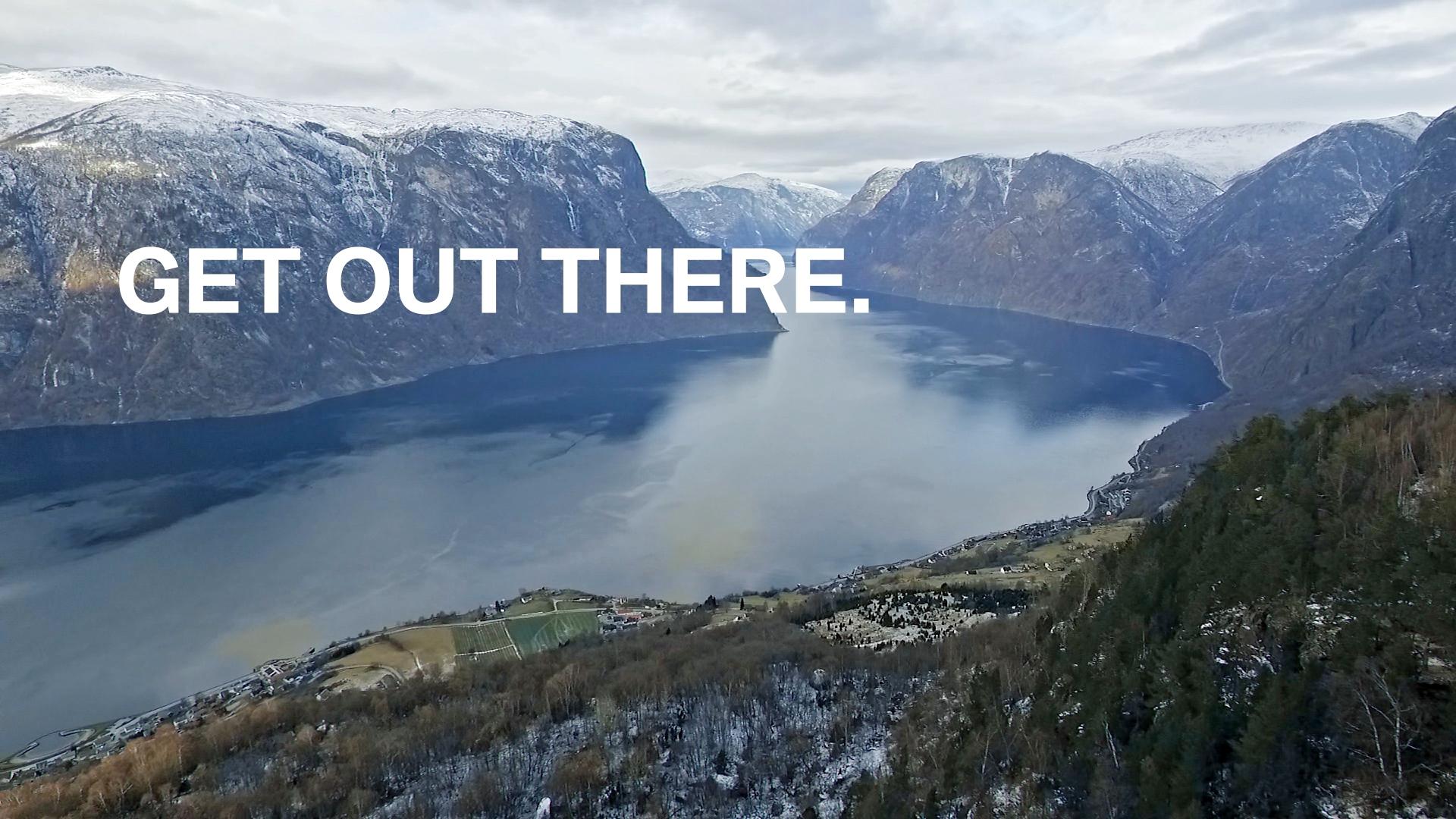 Get Out there Norwegen Schweden BMW Kampagne Werbung Social Media Content