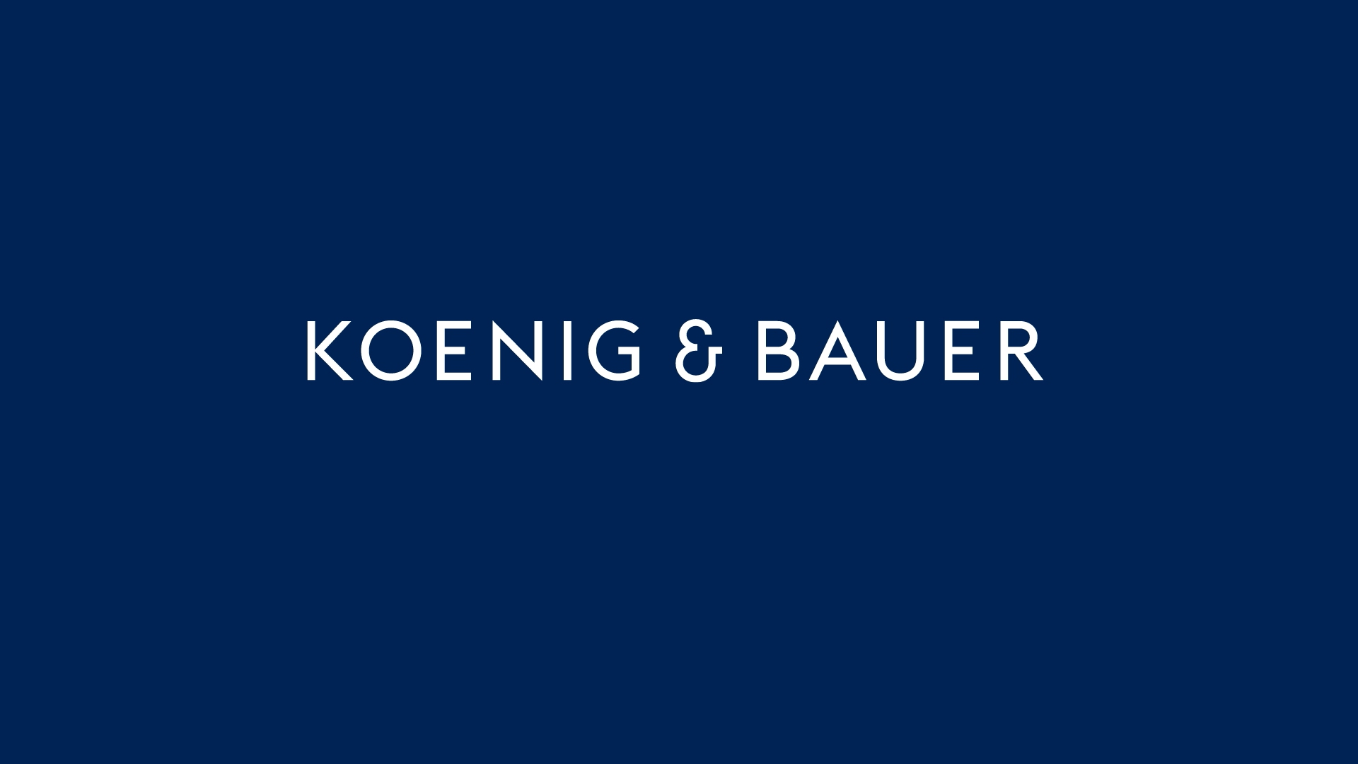 Rapida Koenig Bauer Druckmaschine